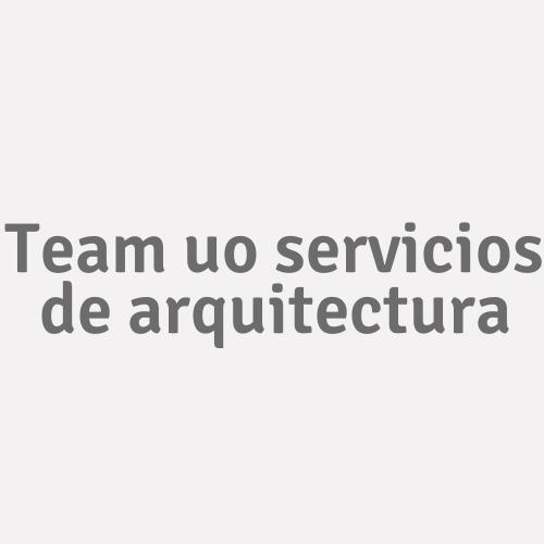 Team Uo Servicios De Arquitectura