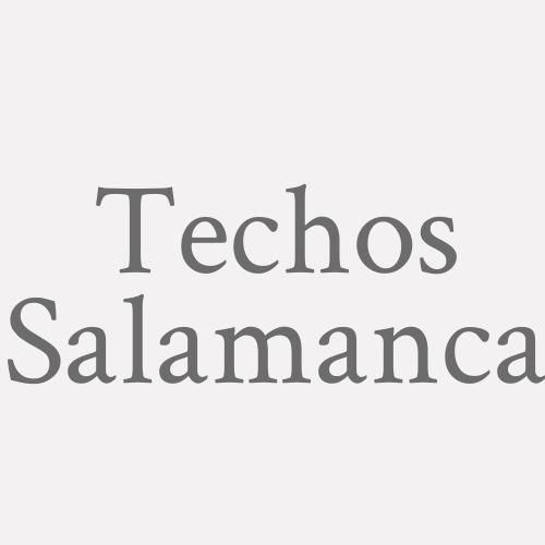 Techos Salamanca