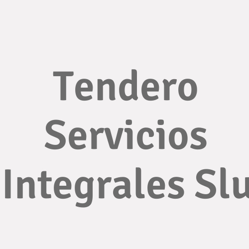 Tendero Servicios Integrales S.l.u