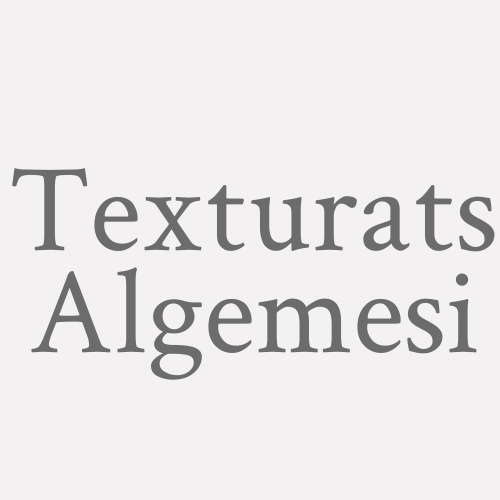 Texturats Algemesi