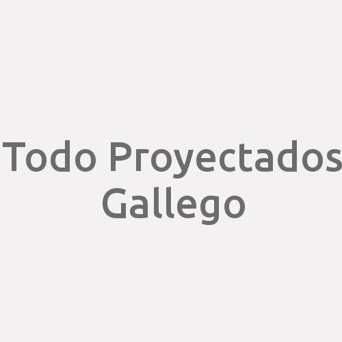 Todo Proyectados Gallego