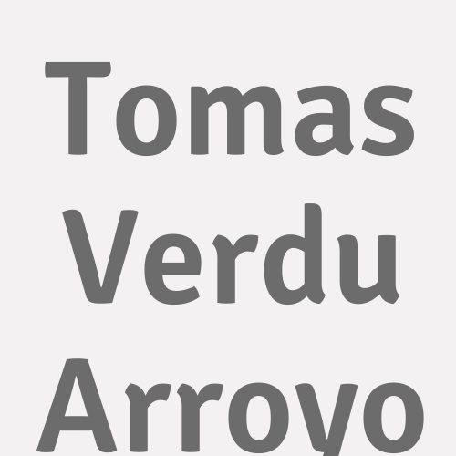 Tomas Verdu Arroyo