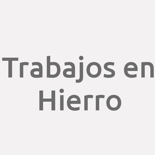 Trabajos En Hierro - Toledo