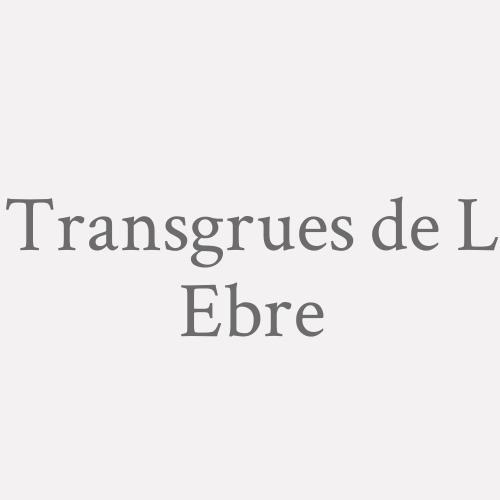 Transgrues de L Ebre