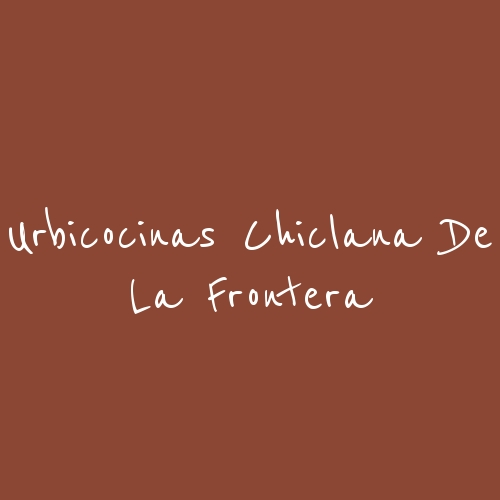 Urbicocinas Chiclana de la Frontera