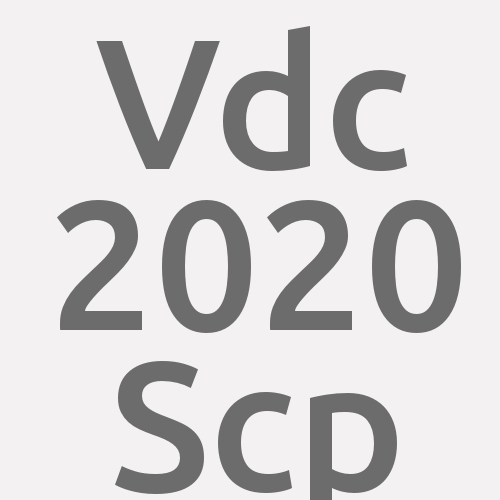 Vdc 2020 Scp