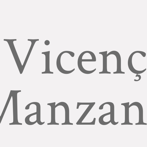 Vicenç Manzano