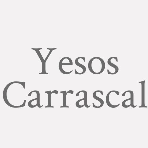 Yesos  Carrascal