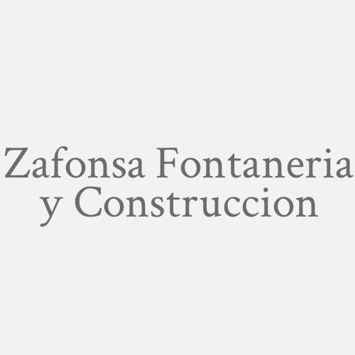 Zafonsa Fontaneria Y Construccion