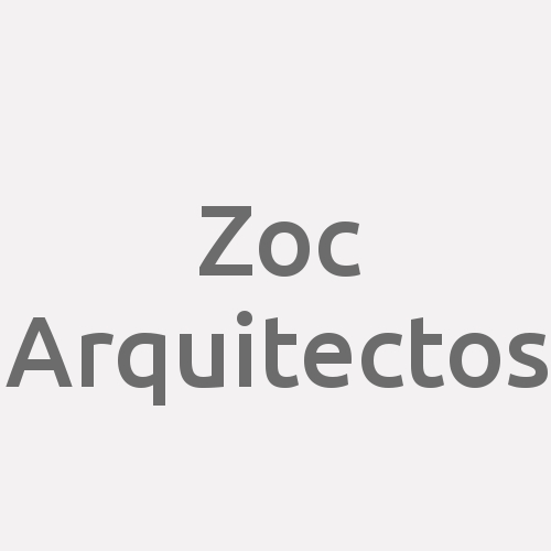 Zoc Arquitectos