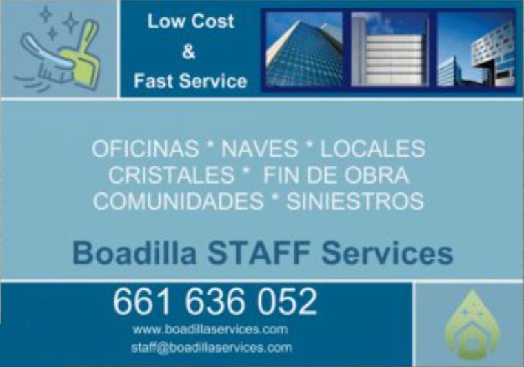BOADILLA STAFF SERVICES S.L.
