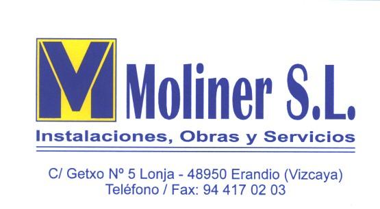 Moliner Instalaciones, Obras Y Servicios S.L.