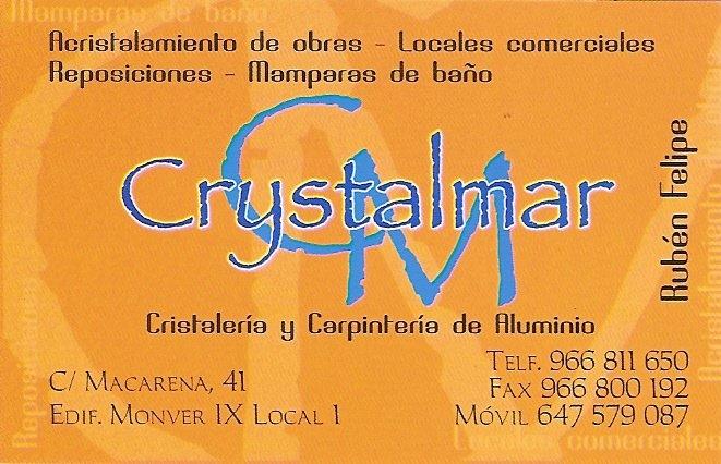 Vidrios Y Aluminios Crystalmar S.L.
