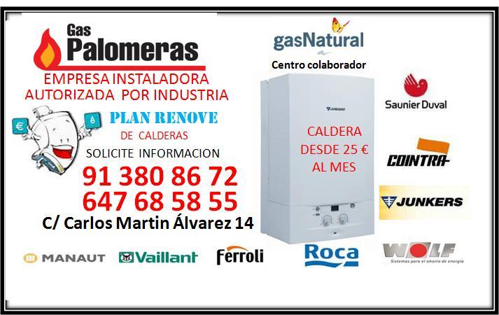 Gas Palomeras