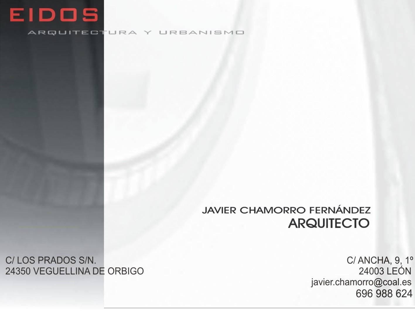 Javier Chamorro Fernández. Arquitecto