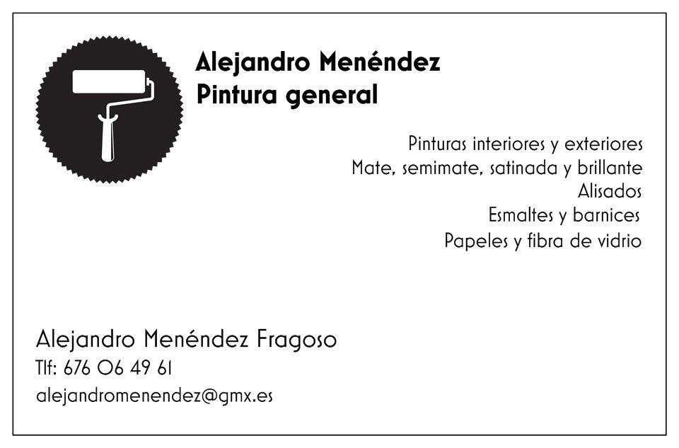 Alejandro Menendez Pintura General