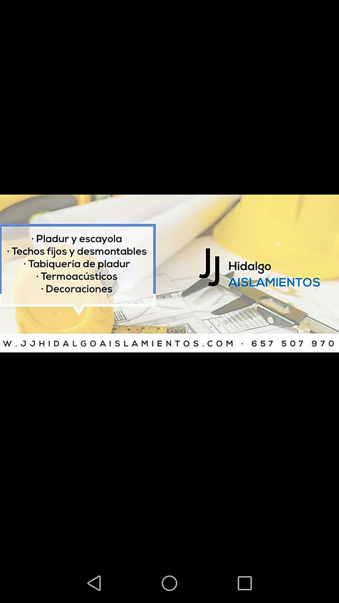 J J Hildalgo Aislamientos
