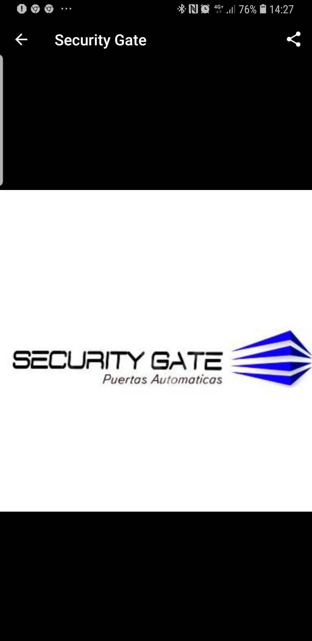 Security Gate Puertas Automáticas