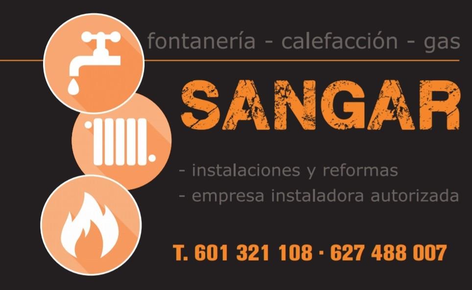 Fontaneria Calefacción Gas Sangar
