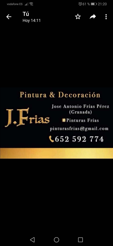 Pintura Y Decoración J. Frias