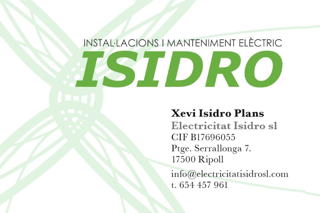 Electricitat Isidro S. L.