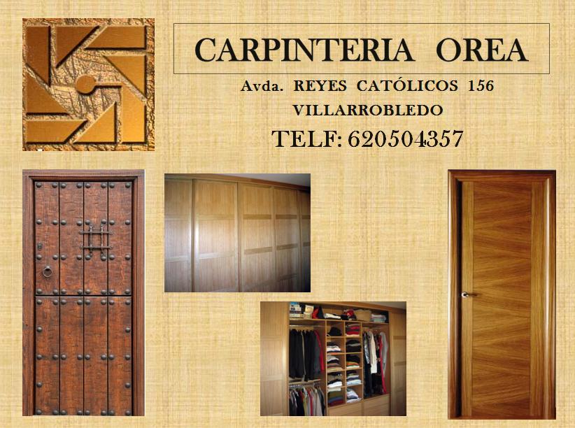 Carpintería Orea