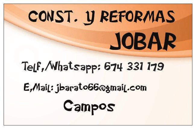 Cons, Y Reformas Joan Barato