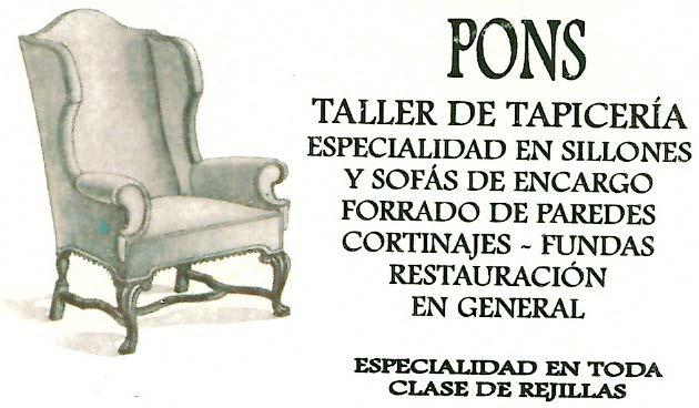 Tapicería Pons