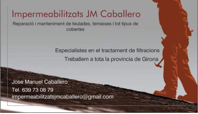 Impermeabilitzats Jm Caballero
