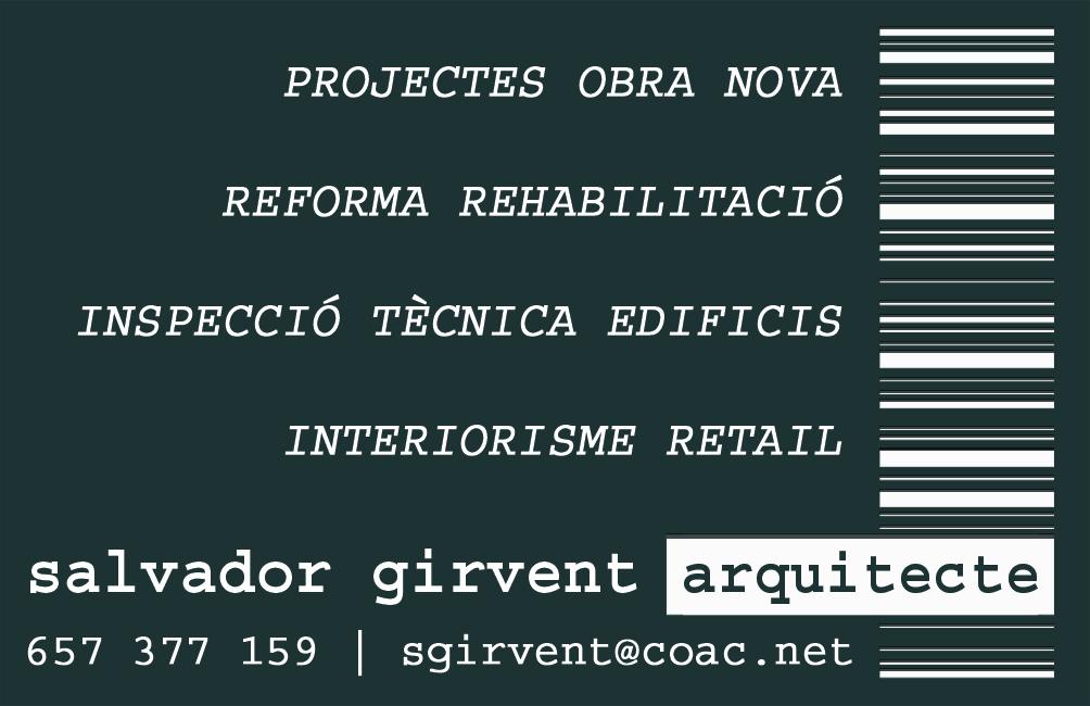 Salvador Girvent  |   Arquitecto