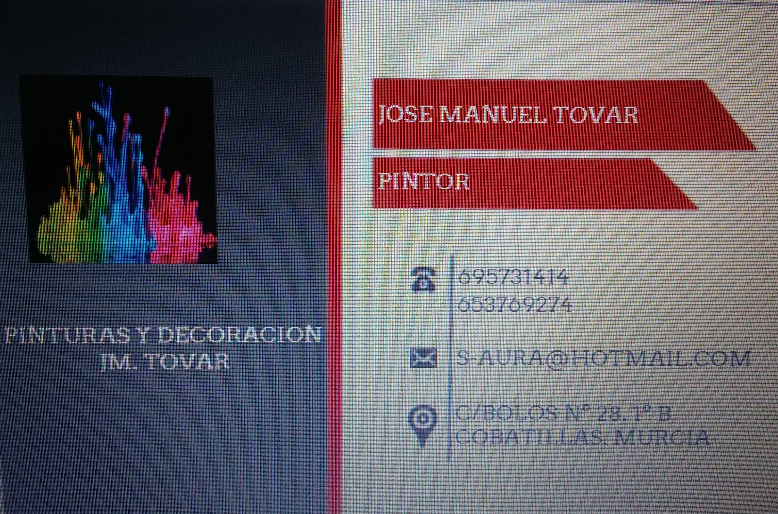 Pinturas Y Decoraciones Jm. Tovar