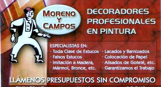 Decoradores Moreno Y Campos