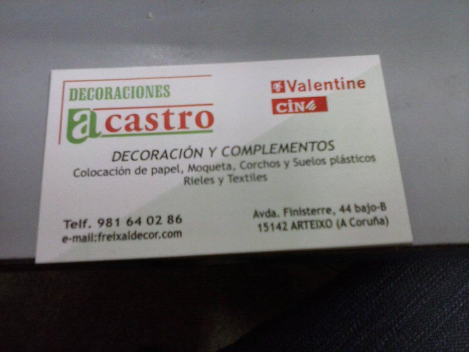 Decoraciones A. Castro Arteixo