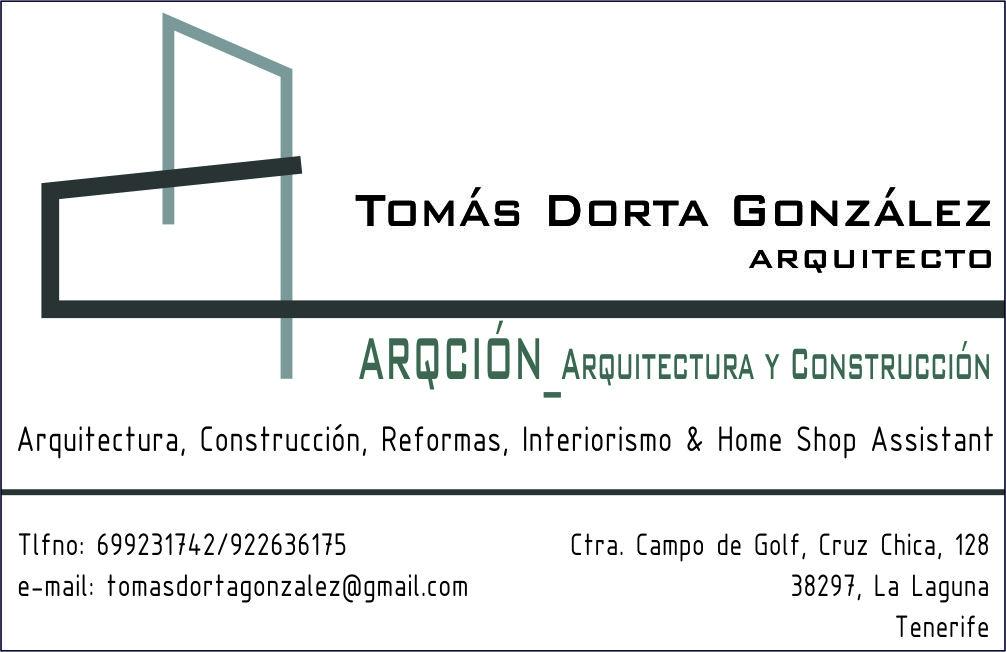 Tomás Dorta González. Arqción_ Arquitectura Y Construcción.
