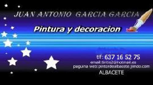 Pintores de Albacete JA García García