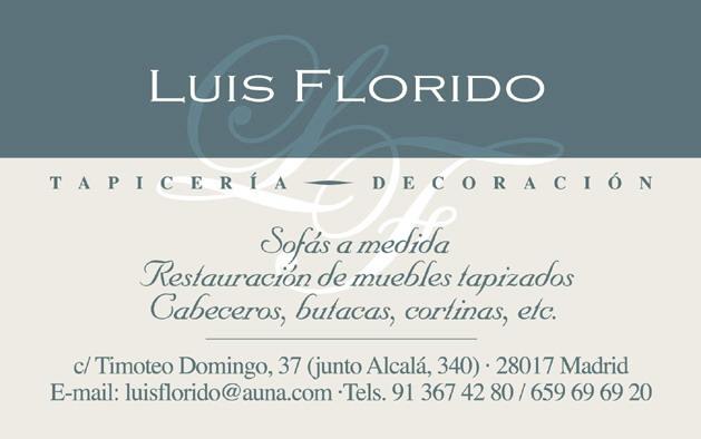 Tapiceria Luis Florido