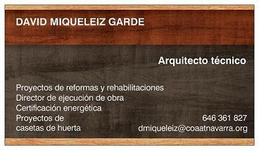 Miqueleiz Garde Arquitecto Técnico
