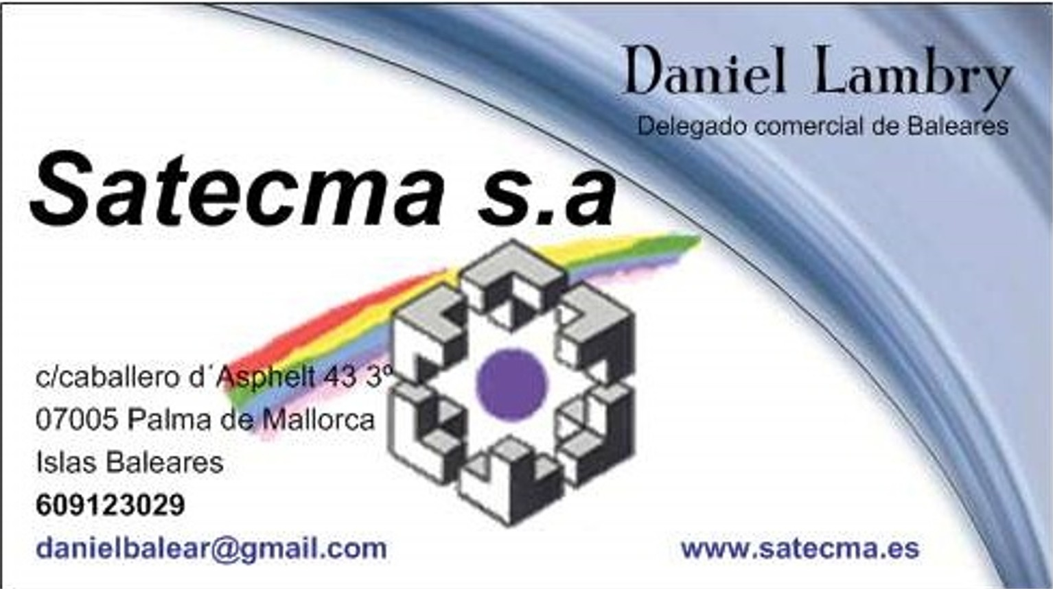 Delegado Comercial Satecma Baleares