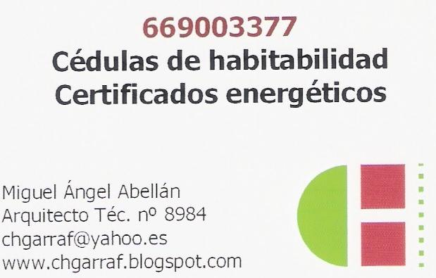 Cédulas Y Certificados Energéticos Penedès