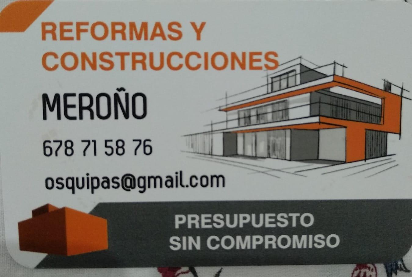 Reformas Y Construcciones Meroño