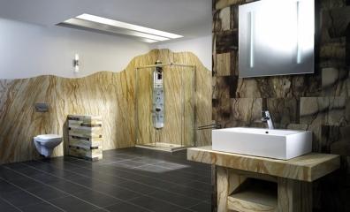 Foto materiales construcci n reformas viviendas vigas de maderas garcia varona 97831 - Paneles decorativos bano ...