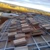 Revisar tejado y limpieza canalones en solares -cantabria