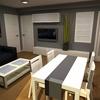 Diseño interiore unifamiliar 250m2
