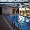 Cubierta piscina muro de alcoy