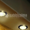 Instalación de tiras de led alrededor de escayola en dos baños (luz foseada)