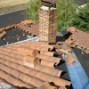 Piscina de fibra sobre tejado