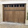 Puerta seccionable metálica de garaje