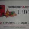 Construcciones Y Reformas L.lezama