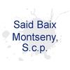 Said Baix Montseny, S.c.p.