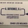 Instalaciones Electricas A.gutierrez .sl